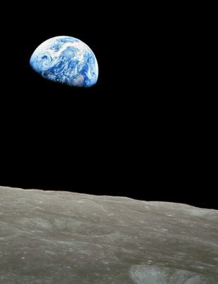 Earthrise Seen From the MOON (HECATE)
