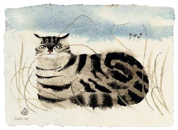 Mary Fedden Cat