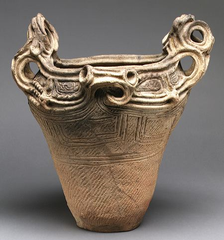 Japanese Jomon Pottery