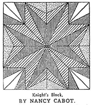 Knight's Block by Nancy Cabot