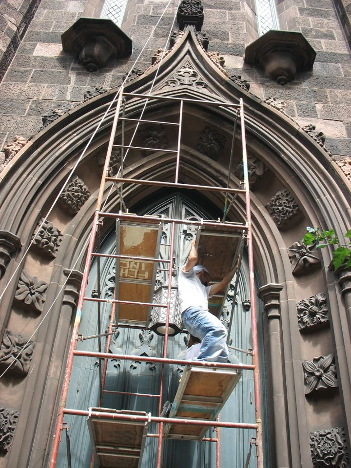 First Presbyterian Church Repairs